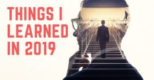Things I learned in 2019
