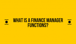 What is a finance manager functions personnel?